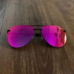 Quay Playa Mirror Aviator Sunglasses 🕶